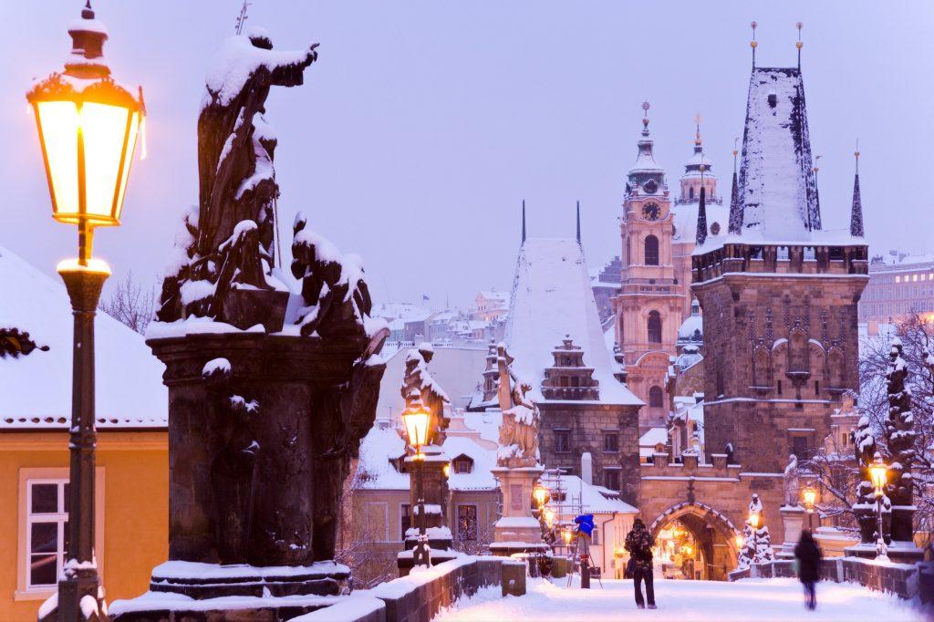 Glühwein und Feuerwerk in Prag #02