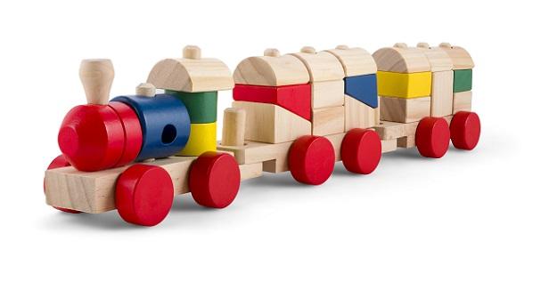 Bauklötze aus Holz sind seit Jahrzehnten die Klassiker beim Kinderspielzeug, da sie sich so vielseitig verwenden lassen. (#01)