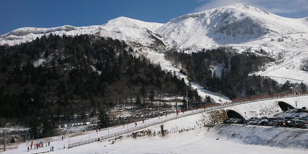 Skigebiete der Auvergne: Mont Dore. (#5)