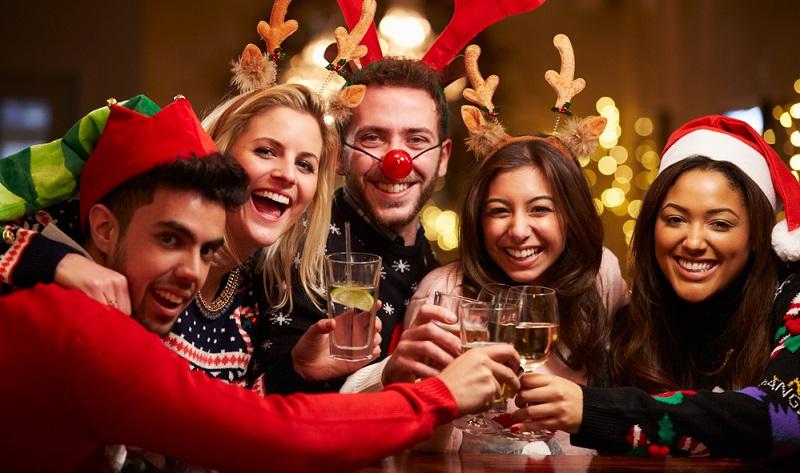 Wenn Ihre Party zur Weihnachtszeit stattfindet, dann können Sie auch dieses Ereignis als Thema wählen.