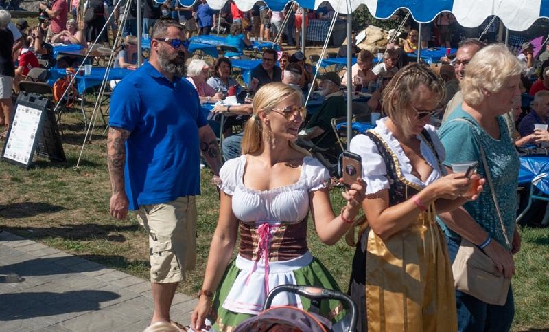 Ein Stückchen Bayern in West Virginia: Oktoberfest in Shepherdstown  ( Foto: Shutterstock-Evgenia Parajanian )